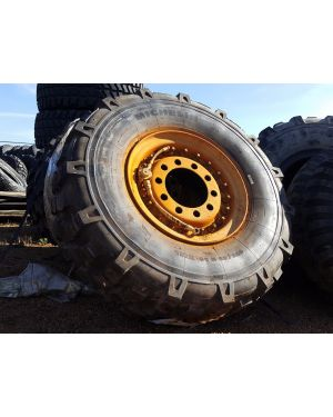 395/85 R20 Michelin XML w/ 100% Tread on Steel LMTV Wheel (w/ Blems)