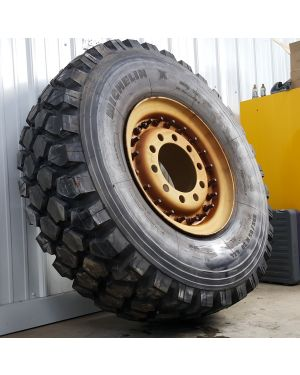 395/85 R20 Michelin XZL (J/18-Ply) Mounted on Steel LMTV Wheel